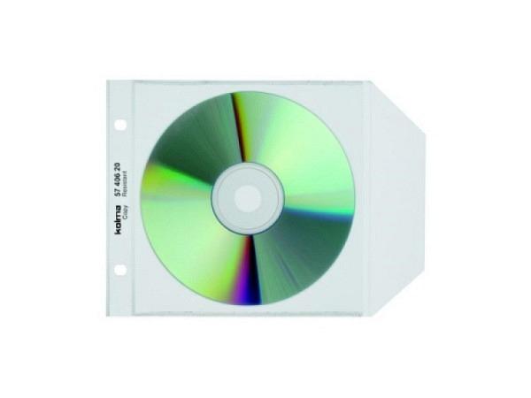 Zeigtaschen Kolma CD copyresistant Lasche zum Verschl. 25Stk