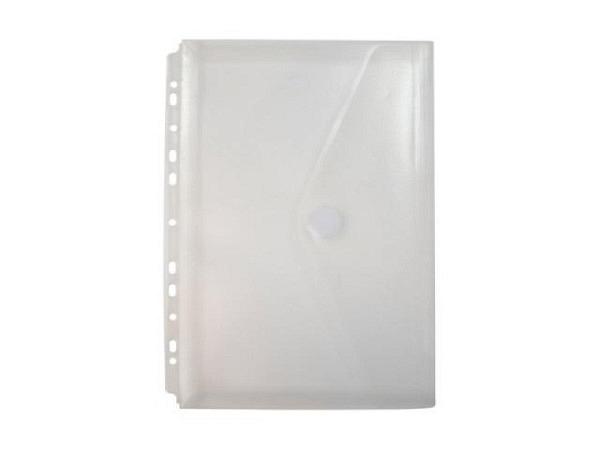 Zeigtaschen Office Box mit Klettverschluss A4 farblos transparent