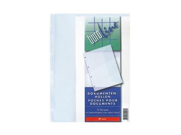Zeigtaschen Büroline A4 Dokumententasche PP 10Stk.