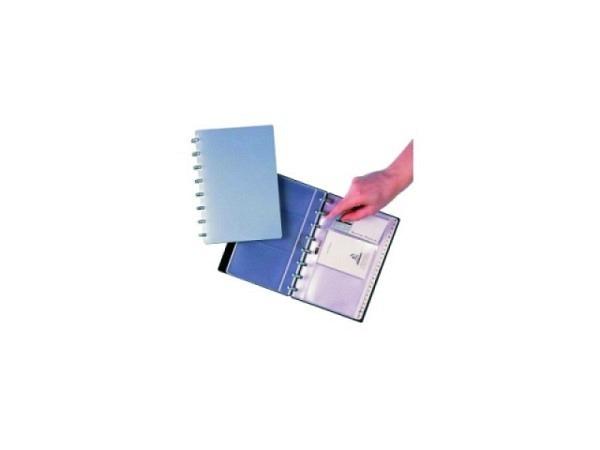Zeigtaschen Adoc Card-Ex für Visitenkartenalbum 12.5x20.5cm