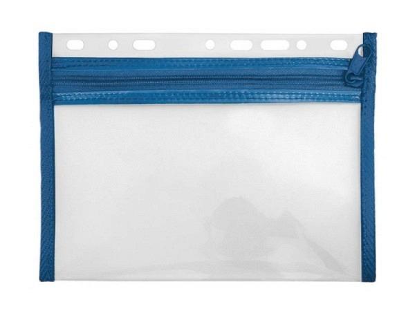 Zeigtaschen Veloflex Velobag XXS A5 blau PP-Folie textilver.