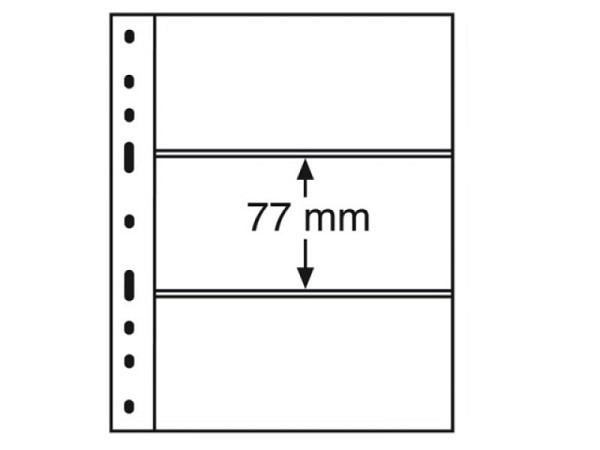 Zeigtaschen Leuchtturm Münzhülle Optima 3C 10Stk., 3er-Eint.