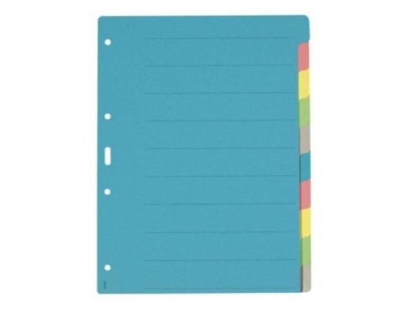 Register Büroline Karton farbig 10tlg. A4