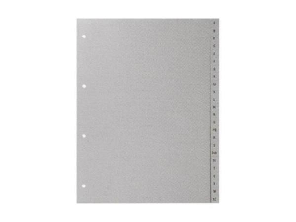 Register Büroline Kunststoff grau A-Z A4