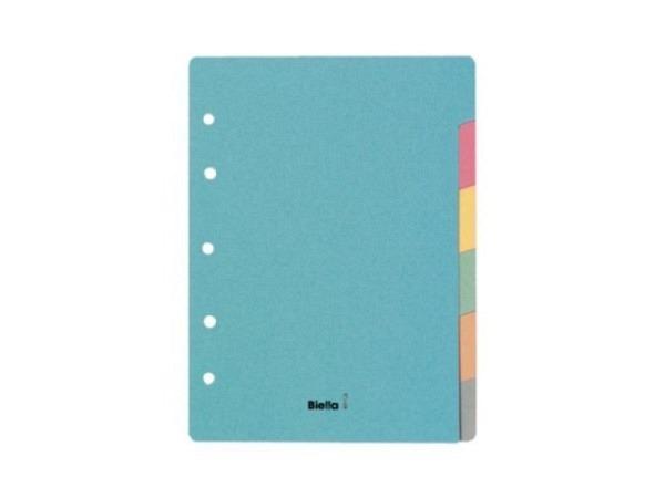 Register Biella Karton pastellfarben 240g/qm A5 6tlg