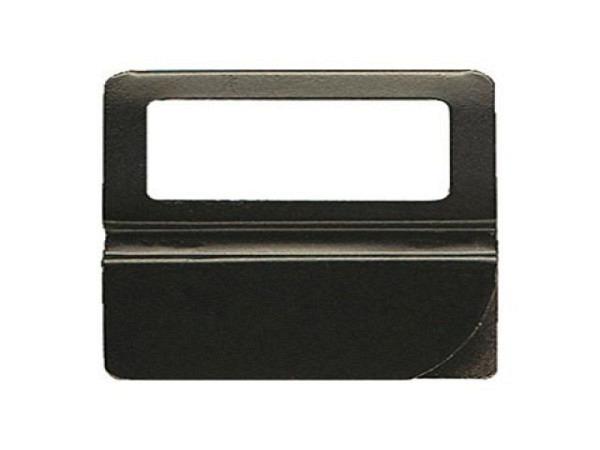 Reiter Exacompta Kartenreiter Metall 50mm breit schwarz 24Stk.
