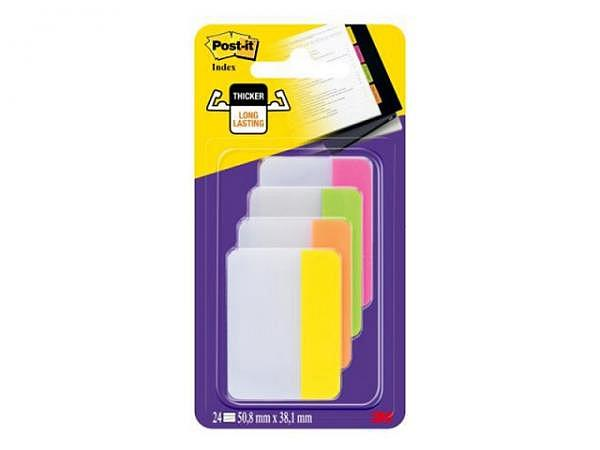Reiter Post-it Index Strong 50,8x38 4 Farb. à 6 Str. pink...