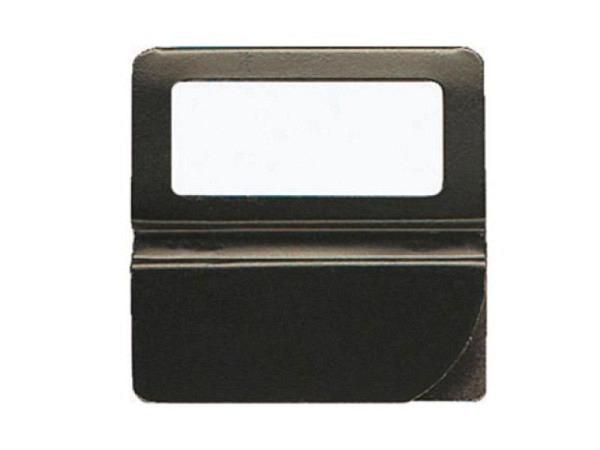 Reiter Exacompta Kartenreiter Metall 25mm breit schwarz 48Stk.