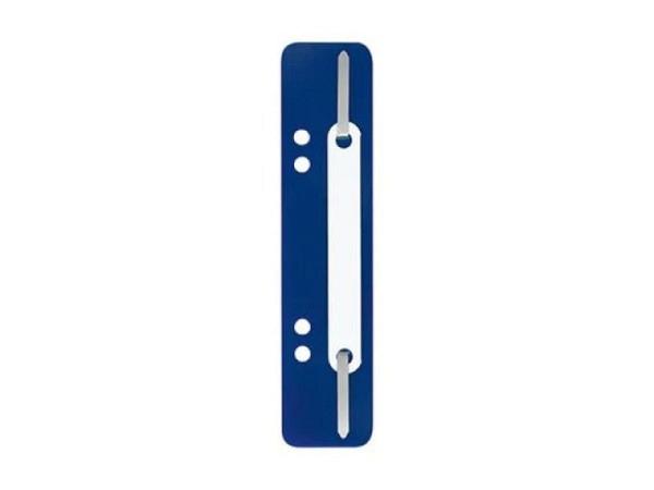 Abheftstreifen blau aus Kunststoff, 3,8x15cm, 25Stk
