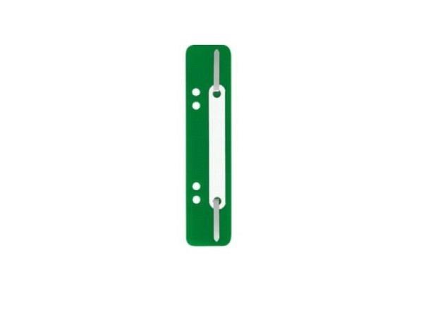 Abheftstreifen grün, 3,8x15cm, aus Kunststoff, 25Stk