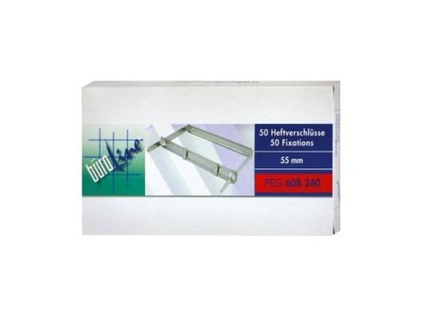 Heftverschluss Büroline Metall Schenkellänge 5,5cm 50Stk.