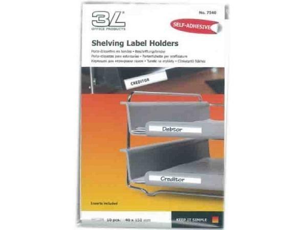 Beschriftungsfenster 3L SK 40x150mm 7540-10 10Stk.