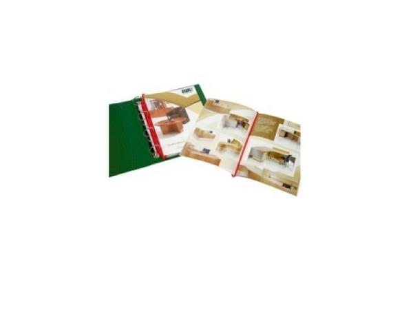 Katalogeinhänger Magic Clip 30cm rot Blister à 12Stück