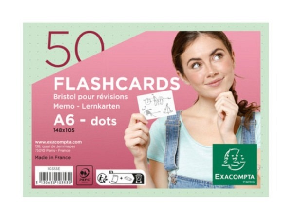 Karteikarten Biella A5 blanko rosa 100Stk