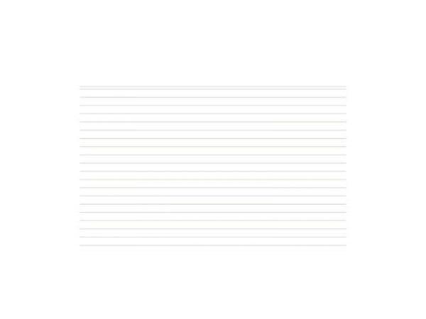 Karteikarten Biella A5 liniert blau 100Stk, mit Kopfzeile