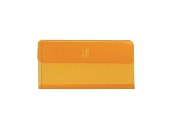 Klarsichthülsen Biella Vetro Mobil Kunststoff gelb 25Stk
