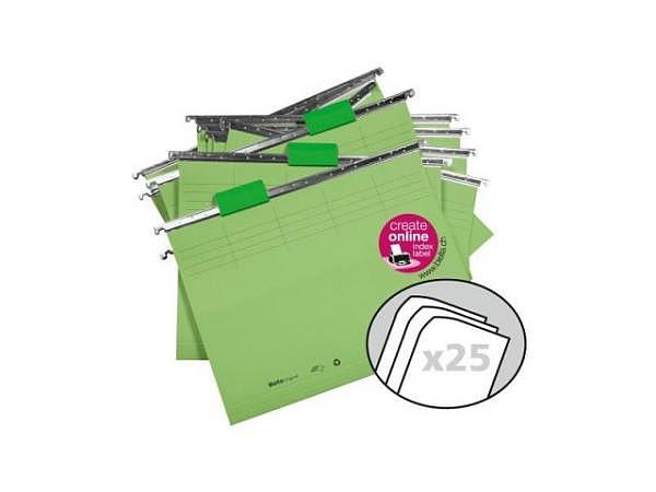 Hängemappe Biella Vetro Mobil Color Set 25Stk. grün