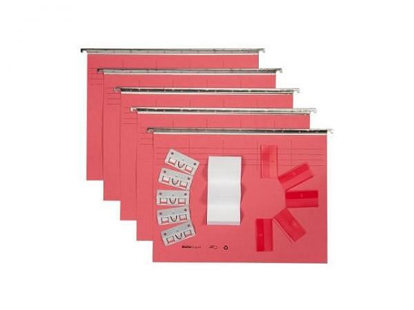 Hängemappe Biella Vetro Mobil Color Set 5Stk. rot