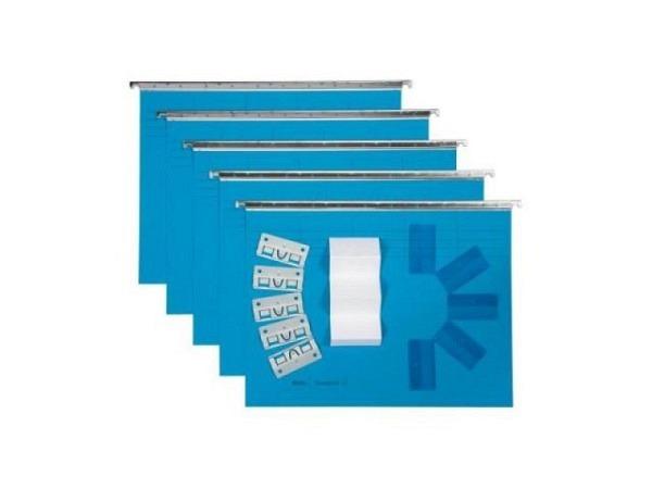 Hängemappe Biella Vetro Mobil Color Set 5Stk. blau