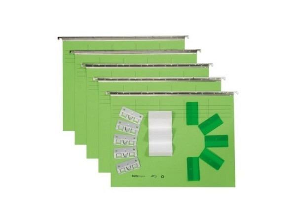 Hängemappe Biella Vetro Mobil Color Set 5Stk. hellgrün
