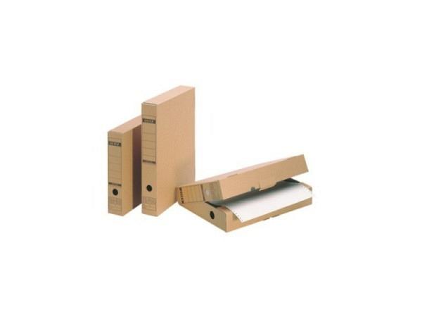 Archivschachtel Leitz mit Verschlusslasche, für A4-Format