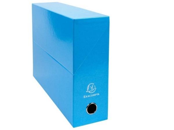 Archivschachtel Exacompta Iderama Transferbox A4 hellblau