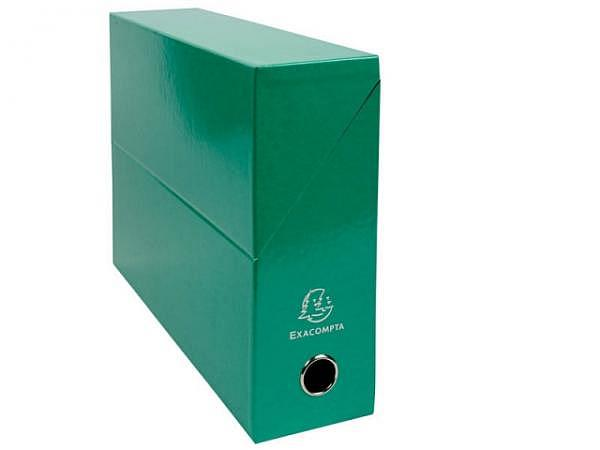 Archivschachtel Exacompta Iderama Transferbox A4 dunkelgrün