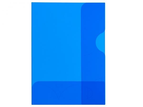 Bewerbungsmappe Kolma Easy A4 transparent blau