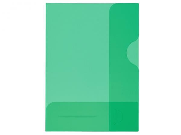 Bewerbungsmappe Kolma Easy A4 transparent grün
