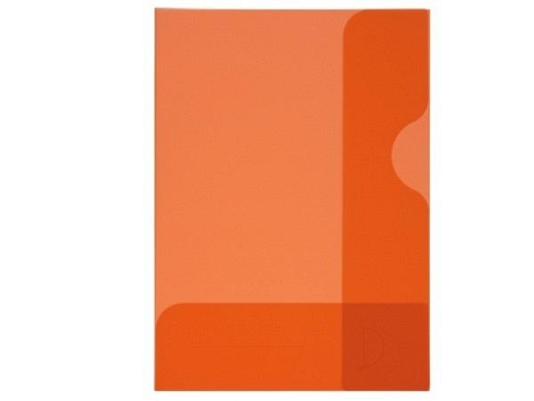 Bewerbungsmappe Kolma Easy A4 transparent rot