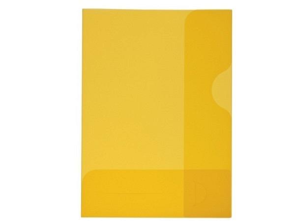 Bewerbungsmappe Kolma Easy A4 transparent gelb
