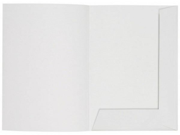 Bewerbungsmappe Artoz Papier matt weiss A4 hoch