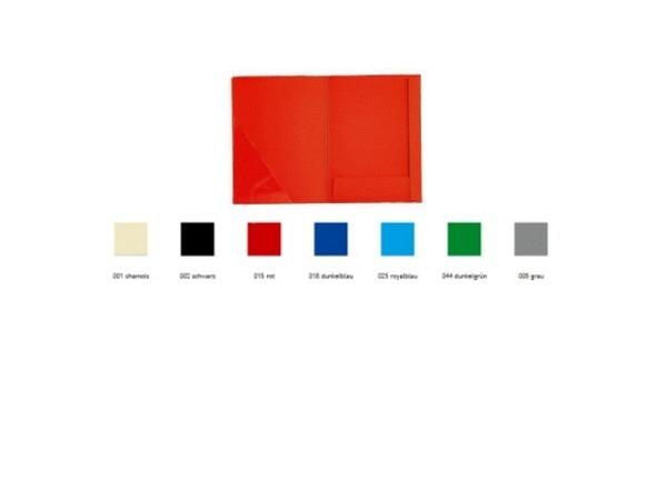 Bewerbungsmappe Paintner 2tlg ohne Klemmleisten schwarz