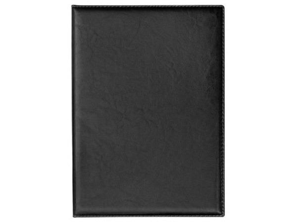 Bewerbungsmappe Veloflex Exquisit schwarz mit einer Klemm