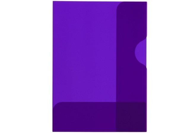 Bewerbungsmappe Kolma Easy A4 transparent violett
