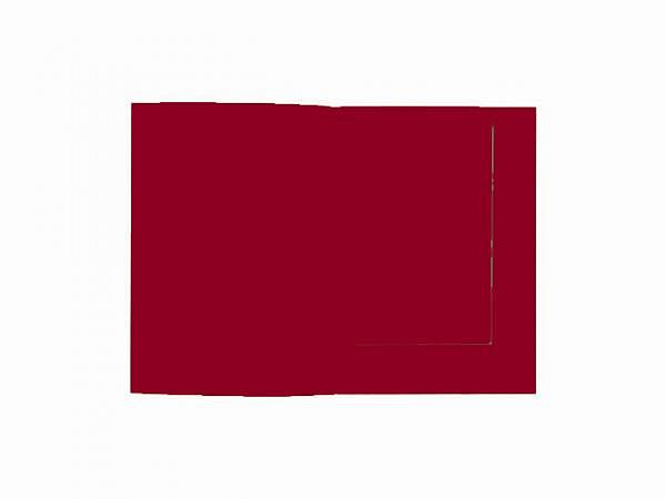 Bewerbungsmappe Artoz Presenta 1001 matt bordeaux A4, 220g