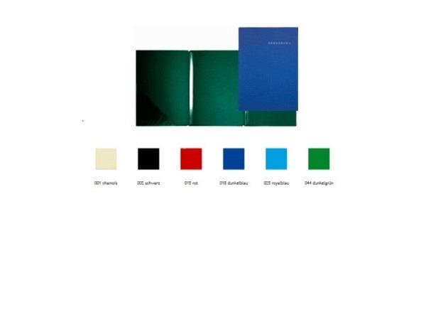 Bewerbungsmappe Paintner 816 dunkelgrün, mit 2 Klemmleisten