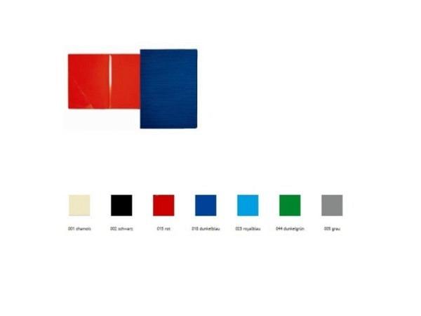 Bewerbungsmappe Paintner 827 dunkelblau, mit 1 Klemmleiste