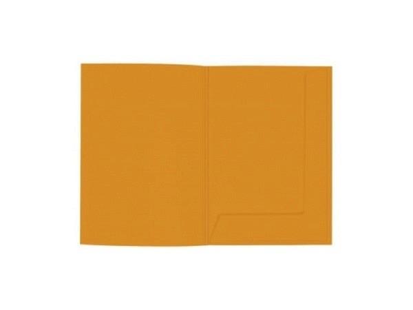 Bewerbungsmappe Artoz Presenta 1001 matt orange A4, 220g/qm