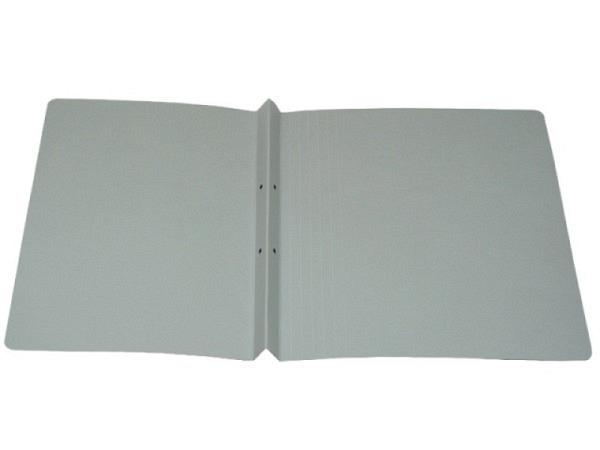 Schnellhefter Adagio A4 blaugrauer Archivkarton, säurefrei