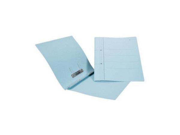 Schnellhefter Biella Karton mit Umlegemechanik A4 blau