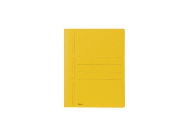 Schnellhefter Biella Recycolor Karton A4 gelb