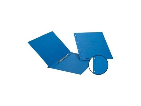 Schnellhefter Biella Color Karton Ösen A4 blau
