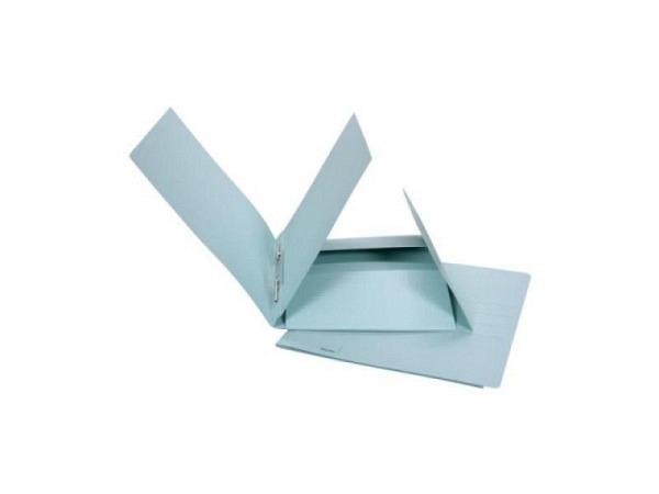 Schnellhefter Biella Praxis Karton mit Juramappe A4 blau