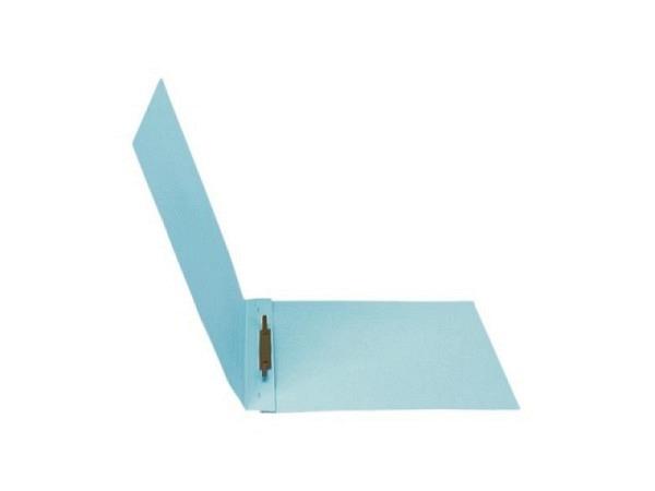Schnellhefter Biella 3 Karton mit Stahldeckleiste A4 blau