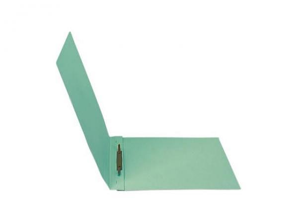 Schnellhefter Biella 3 Karton mit Stahldeckleiste A4 grün