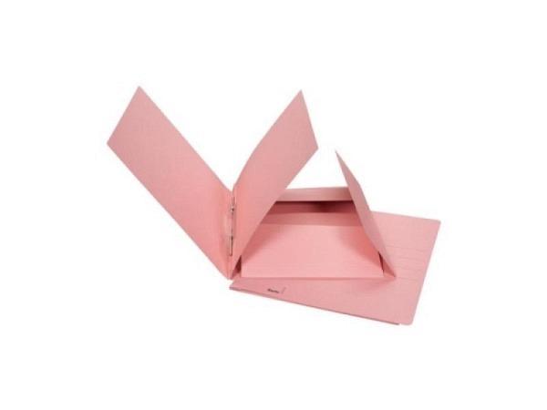 Schnellhefter Biella Praxis Karton mit Juramappe A4 rot