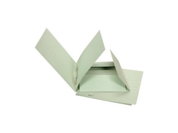 Schnellhefter Biella Praxis Karton mit Juramappe A4 grün