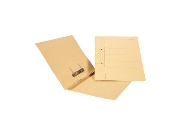 Schnellhefter Biella Karton mit Umlegemechanik A4 gelb