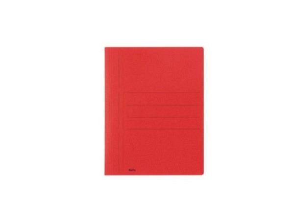 Schnellhefter Biella Recycolor Karton A4 rot